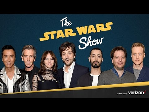 The Cast of Rogue One Visits The Star Wars Show and More!  The Star Wars Show