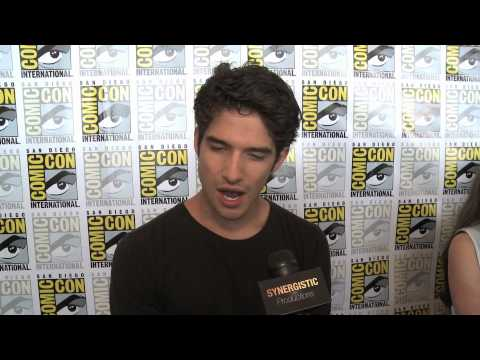 Tyler Posey - Sex With Allison & Alpha Or Omega - Teen Wolf - Comic-con 2012 video