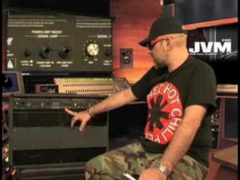 Judge Fredd & l'ampli Marshall JVM210 (La Boite Noire)