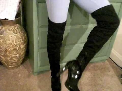 Jennifer Lopez Thigh High Boots - ($119.97 Orig Price)....Final Price $40.97