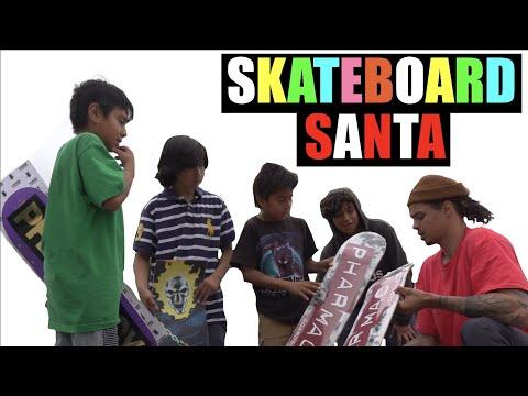 Skateboard Santa: Trey Ferguson (RAW FOOTAGE)