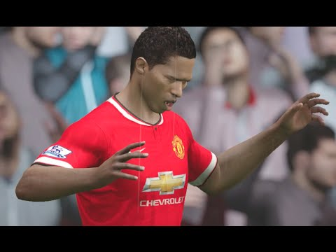 FIFA 15 (PS4): Manchester United vs Everton (Premier League) Sim