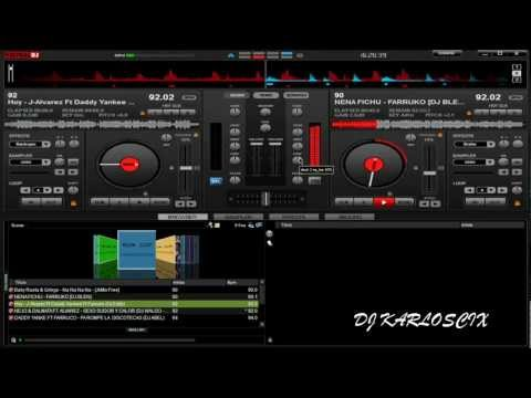 super mezcla reggaeton 2012 en virtual dj by DJINCIO Music Videos