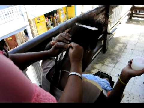 How to make woven hair, Haiti