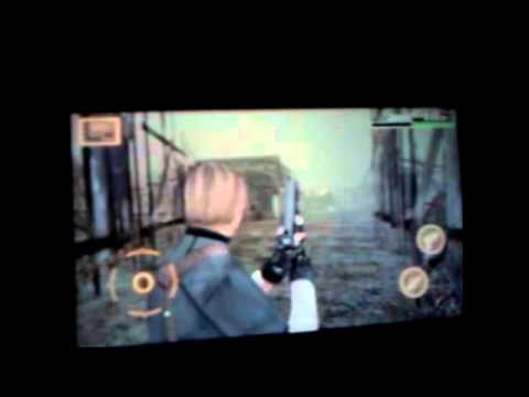 xperia play resident evil 4 total mente funcionable