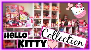 MY HUGE HELLO KITTY COLLECTION!