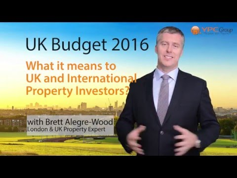 UK Budget 2016 - A Property Investors Perspective