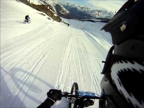 Glacier Bike Downhill Saas-Fee 26.03.2011