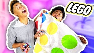 LEGO TWISTER CHALLENGE WITH MY BROTHER!