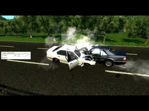Beam NG DRIVE -  Жесткие лобовые столкновения