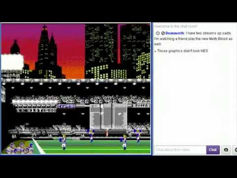 DV Streams: Tecmo Super Bowl 2013 (NES Hack) - Chargers vs Ravens