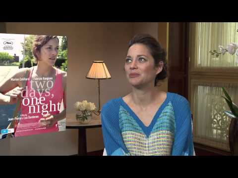 Marion Cotillard's First Impression of the Dardenne Brothers