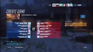 Widowmaker  Top 500 Settings  (Controller) with gameplay