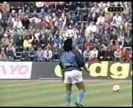 Diego Armando Maradona on Opus Live is Life - Napoli warm up