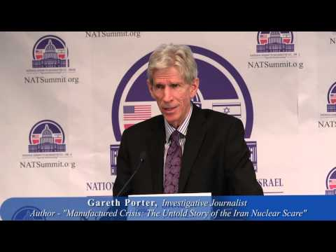 """Gareth Porter: The """"Manufactured Crisis"""" and drive for U.S. / Israel military actions against Iran"""