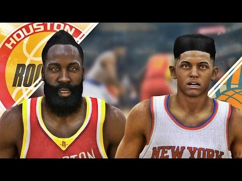 NBA Live 15 Rising Star #8 - J.Harden Is Trash Talking & Adrian's FIRST 4-Point Play!!!