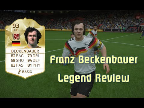 FIFA 16 - Franz Beckenbauer - Legend Review