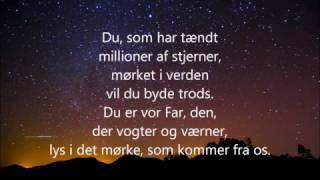 Du som har tændt millioner af stjerner - m. lyrics
