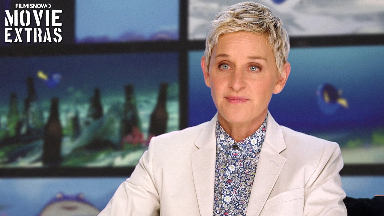 Finding Dory | On-set with Ellen DeGeneres 'Dory' [Interview]