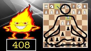 Zen Blitz Chess #408   French Defense, Schlechter variation