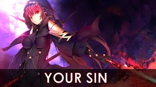 ?AMV?Anime mix- Your Sin