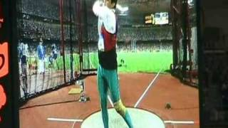 Hammer Throw Olympics 2008