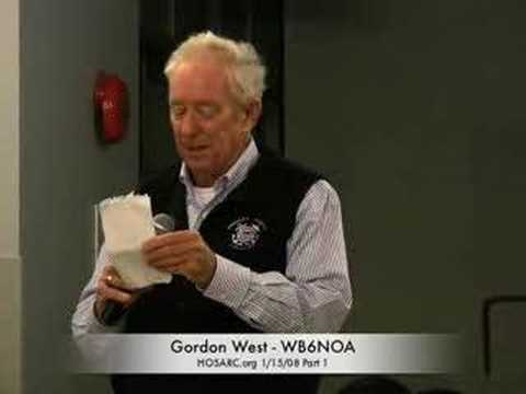 Gordon West speaking at HOSARC general meeting1/15/08Part1