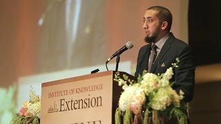 Nouman Ali Khan ~ Preparing for Ramadan