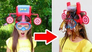 DUNK HAT CHALLENGE!! - Warning: Extremely Messy & Gross!