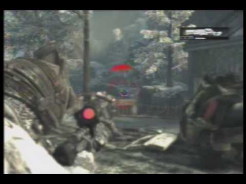 :: Rept4r Iz CR4ZY ::  1st GoW 2 Montage! ALOT OF BLINDFIRES...