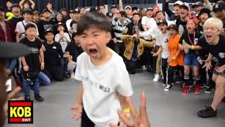 Baby Konkrete vs Baby StreetBeast aka Baby Krow|BEST 8 ①|YOUNG GUNS BATTLE 6|2018.05.20