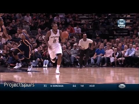 Kawhi Leonard Full Highlights Spurs vs Pacers 2014.11.26 - 21 Pts, 13 Reb - Project Spurs