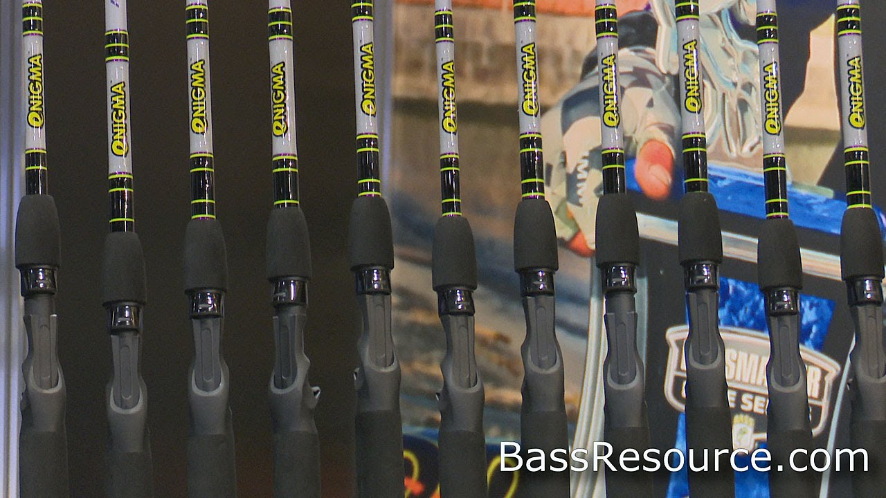 Enigma fishing rods icast 2015 bass fishing fishing media for Enigma fishing rods