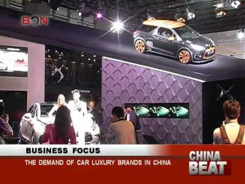 Car luxury brands in demand in China- China Beat - March 6,2013 - BONTV China