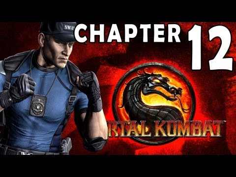 Mortal Kombat 9 - Chapter 12: Stryker 1080P Gameplay / Walkthrough