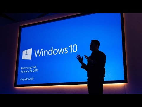 Windows 10 Keynote - The Next Chapter