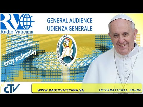 Pope Francis General Audience 2016.06.22