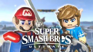 Custom LEGO Super Smash Bros. Ultimate: Mario & Link
