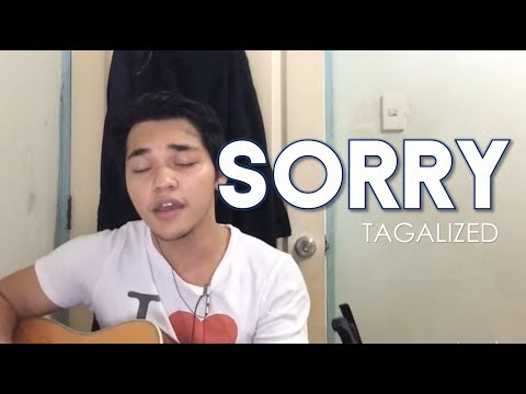 Sorry tagalog version by Arron Cadawas