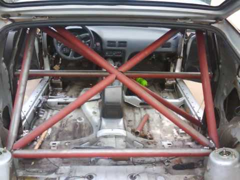 Nissan 200sx Roll Cage Youtube
