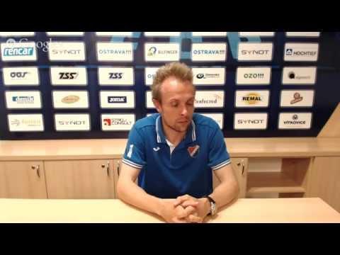 Tisková konference FC Baník Ostrava před utkáním s FC Hradec Králové