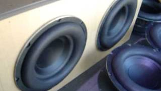 Polk Audio Woofers, Music by The BlindSiders, Song: Super Nova
