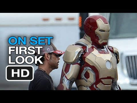 Iron Man 3 - On Set First Look (2013) Exclusive Set Photos HD