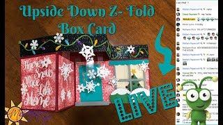 Snow Place Like Home Z Fold Box Card - Cricut Design Space