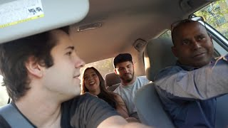 OUR UBER DRIVER MURDERED SOMEONE!! | David Dobrik