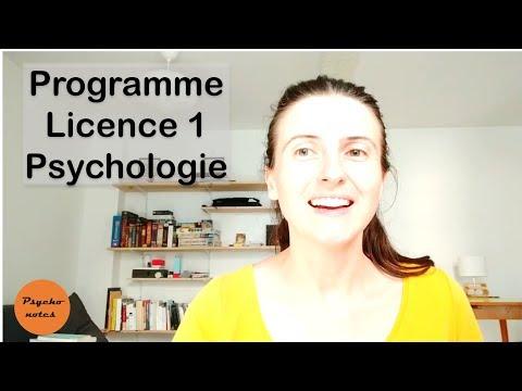 Licence Psychologie: On apprend quoi en L1 ?