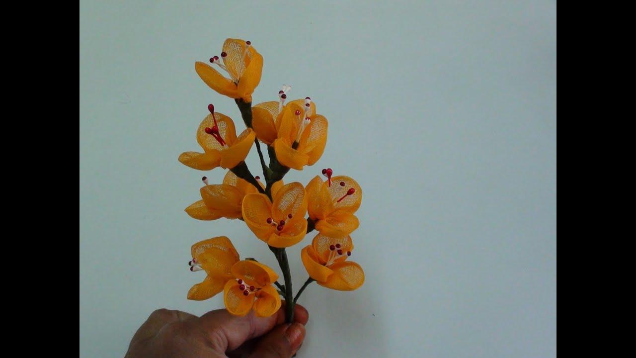 Cloth Craft Flowers