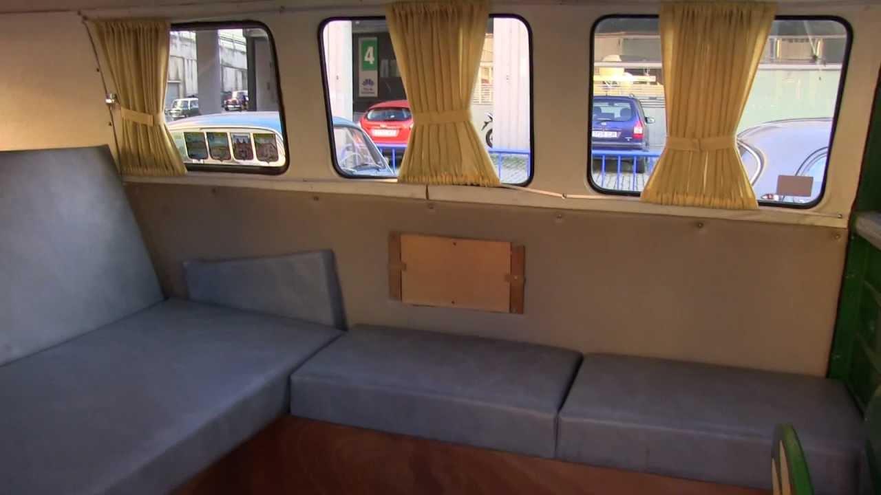 Vw Camper Van >> 29 Autoretro 07-12-12 Certio ITV Volkswagen T1 Interior - YouTube