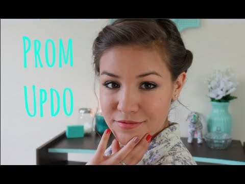 5 Minute Easy Updo: Prom or Date Hairstyles | Manuela Baron