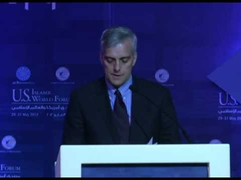 Denis McDonough at 2012 U.S.- Islamic World Forum